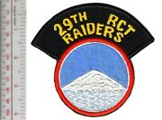 Us Army Korea 29th Regimental Combat Team Rct Raiders Special Forces Airborne Pa