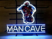 Captain Morgan Rum Man Cave 14x10 Neon Sign Lamp Light Beer Bar With Dimmer