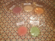 8 Pc Fluted Shaped Soy Wax Melts Tarts 40+ Scents U-z Plus New Free Shipping