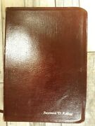 Ryrie New American Standard Study Bible/leather By Moody Pub