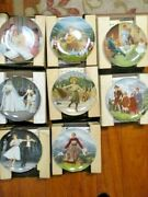 Bradford Exchange The Sound Of Music Complete Series Of 8 Plates Coa Included