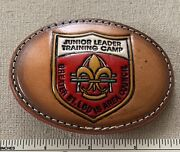 Greater St. Louis Area Council Boy Scout Junior Leader Training Camp Belt Buckle