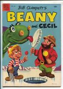 Bob Clampett's Beany And Cecil-four Color Comics 635 1954-dell-based On Tv C...