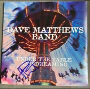 Dave Matthews Signed Autograph Album Record - Band Under The Table And Dreaming