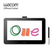 Used Wacom One Digital Drawing Tablet With Screen 13.3 Inch Creative Graphic...