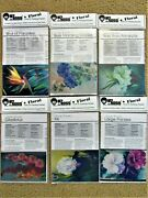 Bob Ross How To Painting Packet - Floral Choose By Flower Name Step-by-step Oils