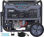 Dual Fuel Generator 12000 Watts Rv Ready W 240 50amp Power Cord Standby Package