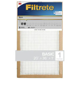 Filtrete 3-pack Basic Pleated 20 X 36 X 1 In Pleated Air Filter