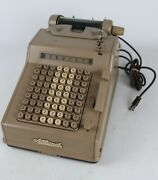 Vintage National Cash Register Co Series E Adding Machine For Repair/not Working