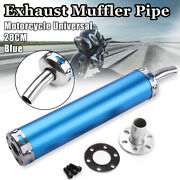 Motorcycle Exhaust Muffler Pipe Silencer Racing Dirt Pit Bike Scooter 2 Stroke