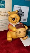 Wdcc 1996 Member Figurine Winnie The Pooh Andldquotime For Something Sweetandrdquowith Pin