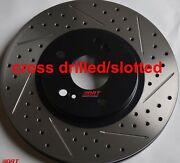 Fits Honda Civic Si Slotted Or Cross Drilled Rotors Akebono Pads Front Rear Set