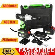 1/2and039and039 16800mah Electric Brushless Cordless Impact Wrench Drill High Torque Tool