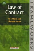 Law Of Contract Frameworks Series, Major, Taylor 9780273634348 New-