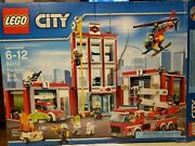 Lego 60110 City Fire Station Box Is Damaged And Opened All Bags Sealed