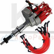 For Ford 221 260 289 302 Red Hei Distributor 10.5mm Spiral Core Spark Plug Wires