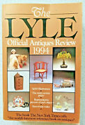 1993 The Lyle Official Antiques Review 1994 Paperback Collecting Pricing Guide