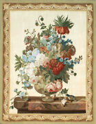 Aubusson Tapestry Hand-woven French Gobelins Still Life Wall Hanging Rug 44x57
