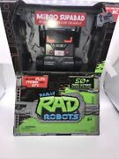 Really Rad Robots Mibro Supabad 50sounds/actions Full Function Rc Brand New