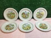 Winterling Bavaria Germany Cheese Starter / Buffet Serving Plate X 6