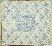 Vintage French Toile Quilt Beautiful Fabrics