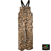 Drake Waterfowl Systems Lst Insulated Camo Bibs 2.0 - Old School Camo