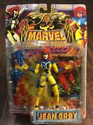 New Jean Grey Toybiz 1996 Marvel Hall Of Fame She-force Action Figure +card A21