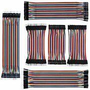 Izokee 240pcs 10cm And 20cm Jumper Wire Solderless Breadboard Wires Male To Andamp