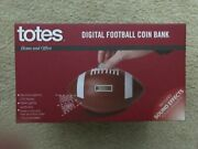 Digital Football Coin Bank For Home Or Office