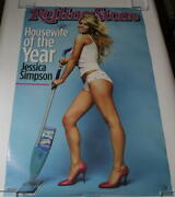 Jessica Simpson Signed Autograph Full Size Rolling Stone Poster - In This Skin