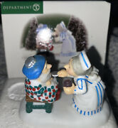 Dept. 56 North Pole Retired Open Wide 56.56713 Take Your Medicine Fast Ship
