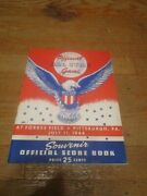 1944 All Star Game Program-forbes Field-stan Musial-nice Shape
