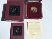 2003 Ram 100 Gold Proof Floral Emblems Of Act Royal Bluebell – Rare Series.