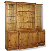 Ducal England Display Cabinet With Lights Glass Shelves And Doors Welsh Dresser
