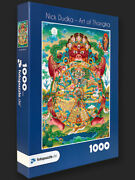 Jigsaw Puzzles With Thangka Art By Nick Dudka Indoor Activity For Adults And Kids
