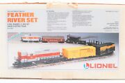 Lionel 6-11733 Feather River Freight Train Set, O Gauge, Nib Factory Sealed