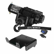 Winch Kit 3500 Lb For Yamaha Grizzly 660 4x4 2002-2008 Synthetic Rope
