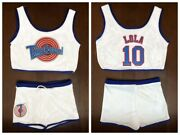 Space Jam Tune Squad Lola 10 Basketball Jersey With Shorts Girls Ladies Suit