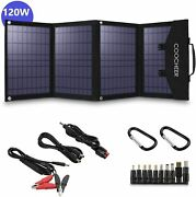 Coocheer Solar Panel 60w/120w Portable Foldable For Power Station Generator Best
