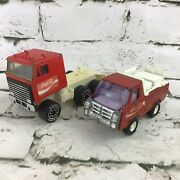Vintage Coca-cola Toy Trucks Collectible Die Cast Remco Buddy L Corp. Andlsquo70s-andlsquo80s