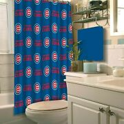 New Best Chicago-cubs-the-northwest-blue Custom Shower Curtain 100 Polyester