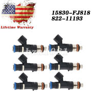 Set Of 6 Fuel Injectors For 2005-2010 Ford Mustang 4.0l 82211193 Lr004860 Cm5147