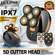 Best Bald Head Hair Remover Shavers Razor Smooth Skull Cord Cordless Wet Dry New