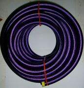1/2 X 50and039 Purple Nylon Cover Bungee / Shock Cord - Industrial Grade Heavy Duty