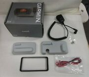 Garmin Vhf 210 Radio Parts Only - Microphone / Cable / Cover / Trim Ring Boat