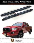 Roof Rail Carrier Rack Fits For Toyota Tacoma 2016-2020 Luggage Bar Roof Racks