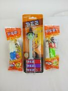 Vtg Retro Halloween Pez Dispensers Witch Ghost Lot Of 3 New Sealed Shps Same Day