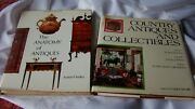 2 Antique Collecting Books County Antiques And Collectibles And Anatomy Of Antique