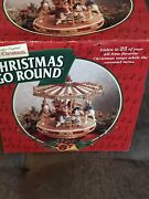 1997 Vintage Mr. Christmas Christmas Go Round Complete Box. 25 Songs 1996