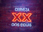 Cerveza Xx Dos Equis 24x20 Neon Sign Lamp Light Artwork Beer Bar With Dimmer